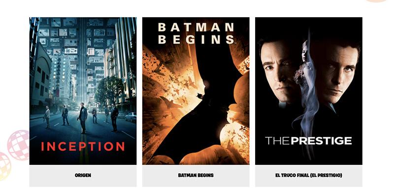 Christopher Nolan peliculas Fortnite