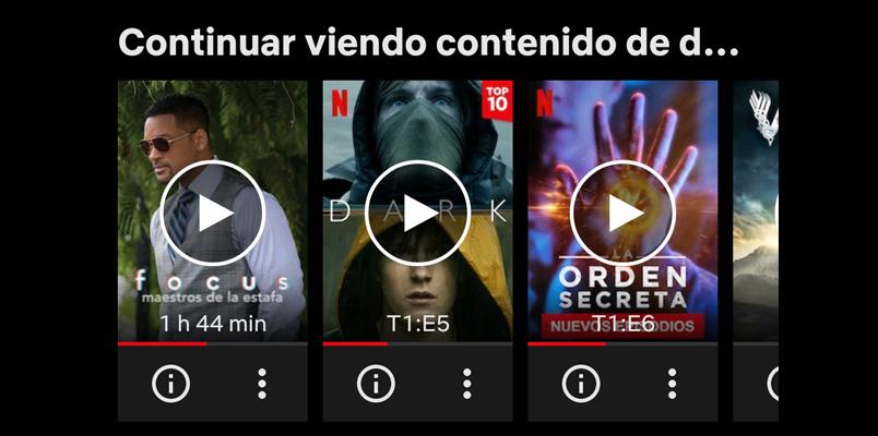 Así puedes eliminar contenido de Continuar viendo en Netflix