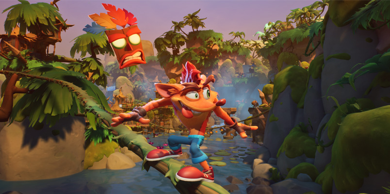 Crash Bandicoot 4: It's About Time llegará en octubre