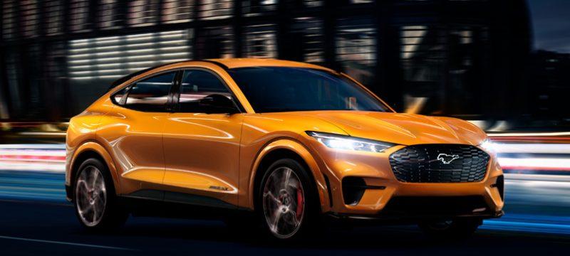 Cyber Orange Mustang Mach-E GT