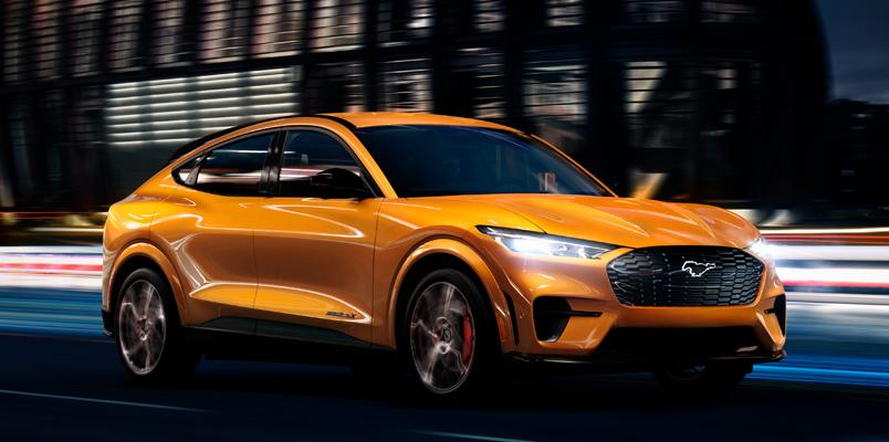 Cyber Orange el nuevo tono que tendrá el Mustang Mach-E GT