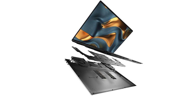 Dell XPS 15 interior