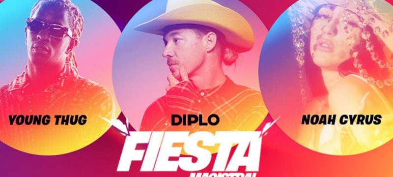 Diplo Fiesta Magistral Fortnite