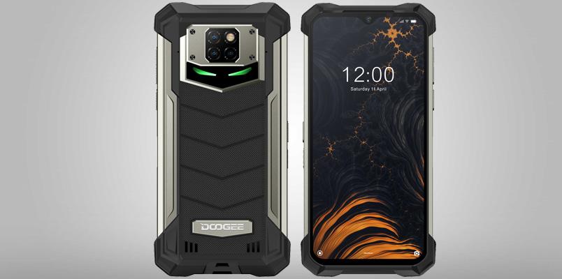 Doogee S88 Pro; el smartphone más resistente con 10,000 mAh