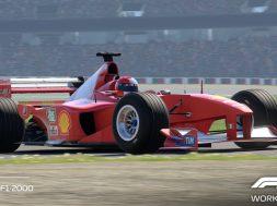 F1 2020 Schumacher Ferrari F1-2000