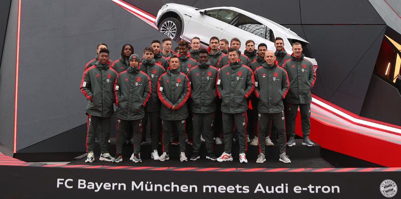 Audi Digital Summer Tour con el FC Bayern Munich será digital