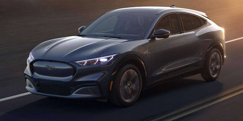 Así trabajará el nuevo Rango Inteligente de Ford Mustang Mach-E