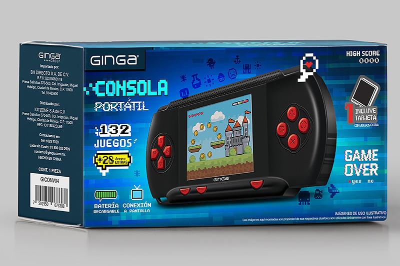 Ginga GICONV02 consola caja
