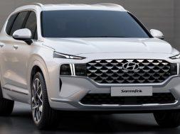 Hyundai Santa Fe 2021 frente