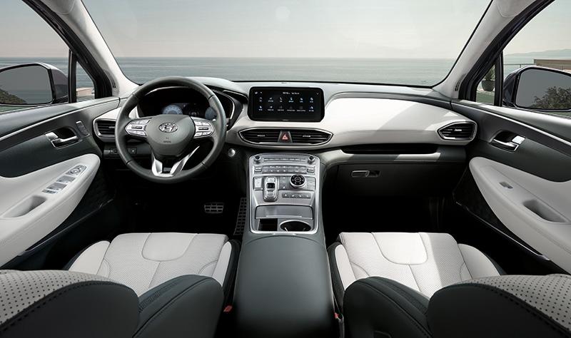 Hyundai Santa Fe 2021 interior