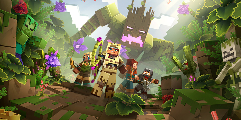 Jungle Awakens, la primera expansión de Minecraft Dungeons