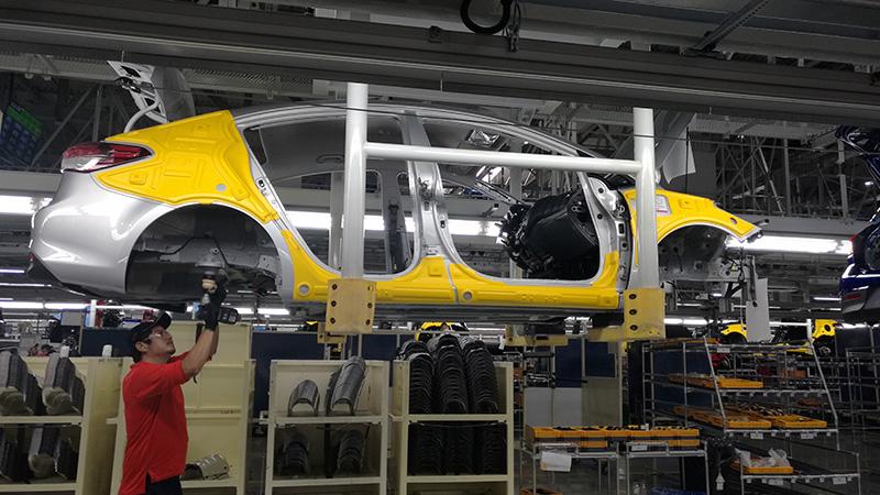 KIA Motors Mexico Planta Forte sedan