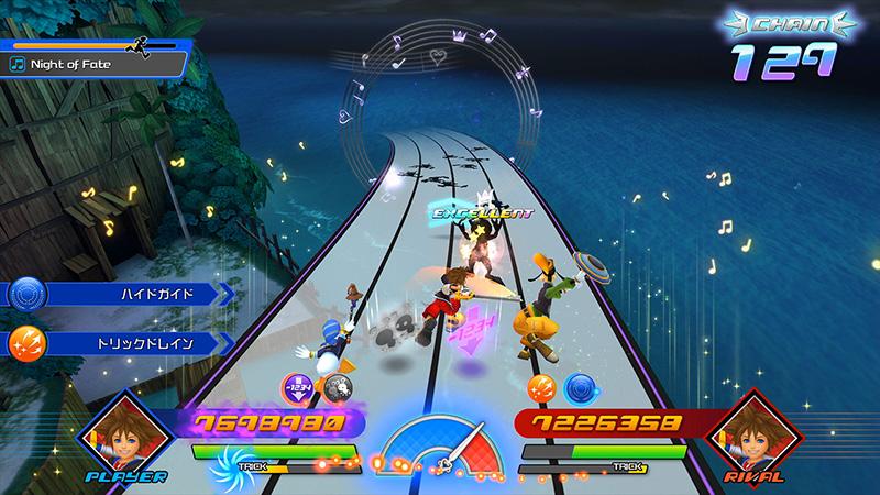 Kingdom Hearts Memory of Melody gameplay
