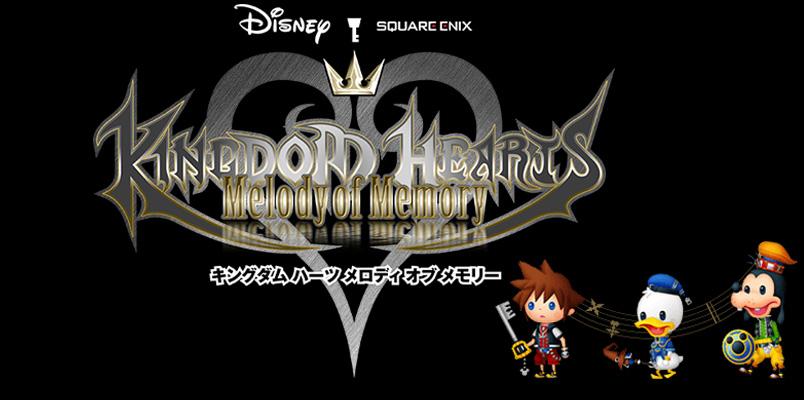 Kingdom Hearts: Memory of Melody, un nuevo juego de música