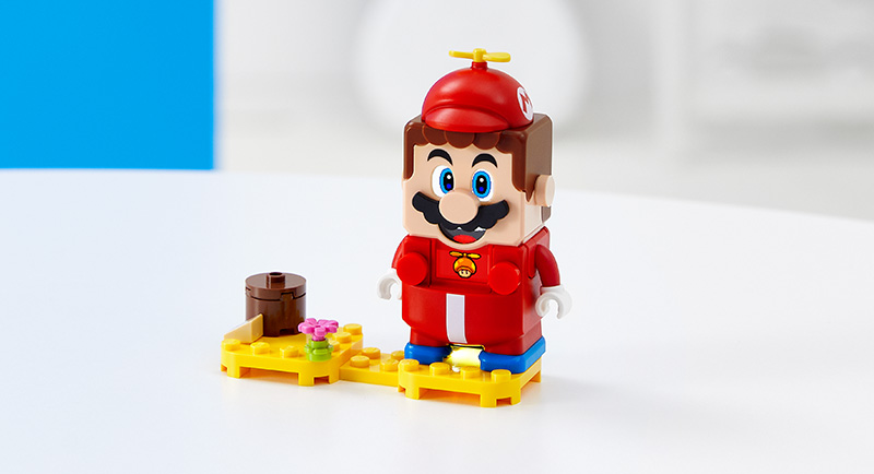 LEGO-Super-Mario-Pack-Potenciador-Mario-Helicóptero