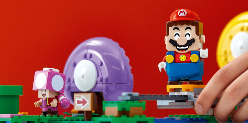 Los sets y packs de LEGO Super Mario que llegan en 2020