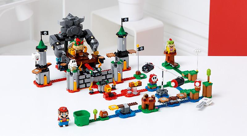 LEGO Super Mario primeos sets