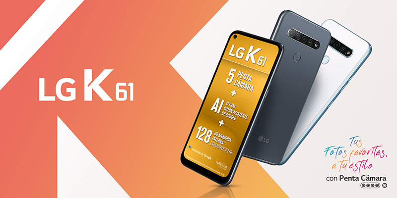 LG K61 papa