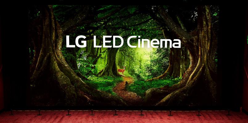 La primera pantalla de cine LG LED Cinema Display con Dolby Atmos