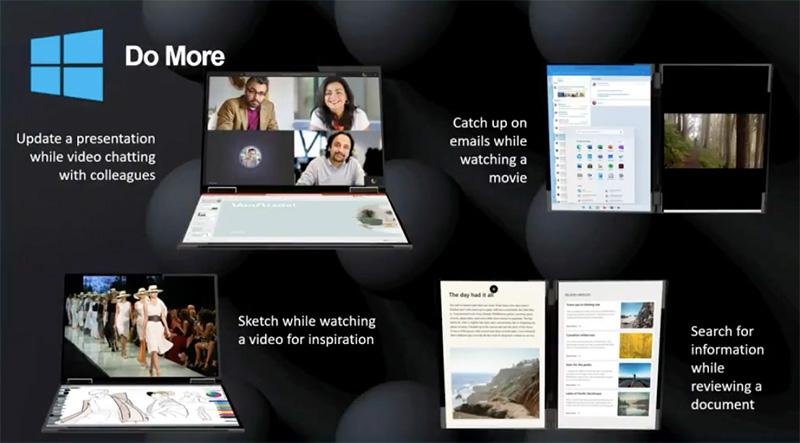 Lenovo doble pantalla 2021 modos