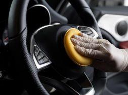 Limpiar auto interior COVID-19
