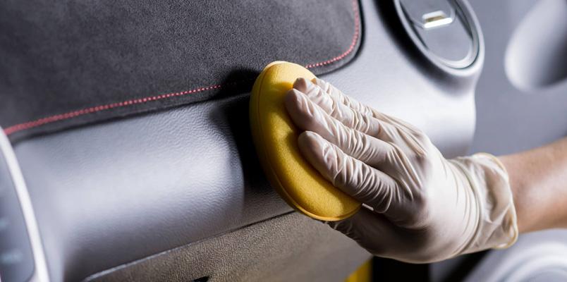 Limpiar auto interior virus