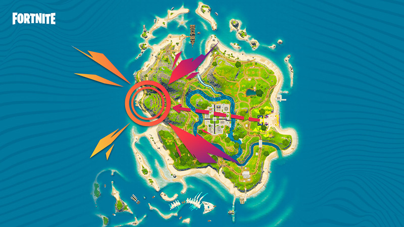 Mapa para ver Noches de Pelis Fortnite