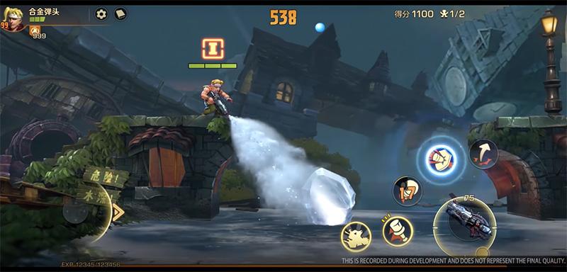 Metal Slug Code J gameplay