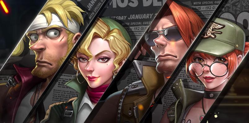 Metal Slug Code: J, el nuevo juego de la saga para dispositivos móviles