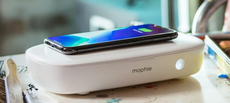Mophie desinfectante UV
