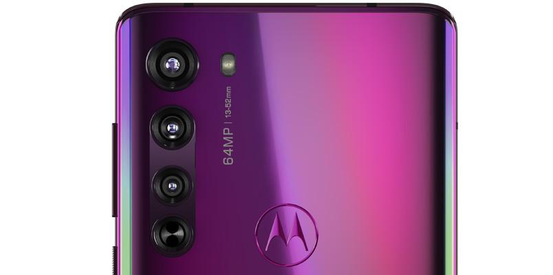 Motorola Edge camara