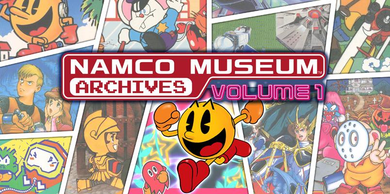 Namco Museum Archives trae 20 juegos clásicos a tu consola favorita