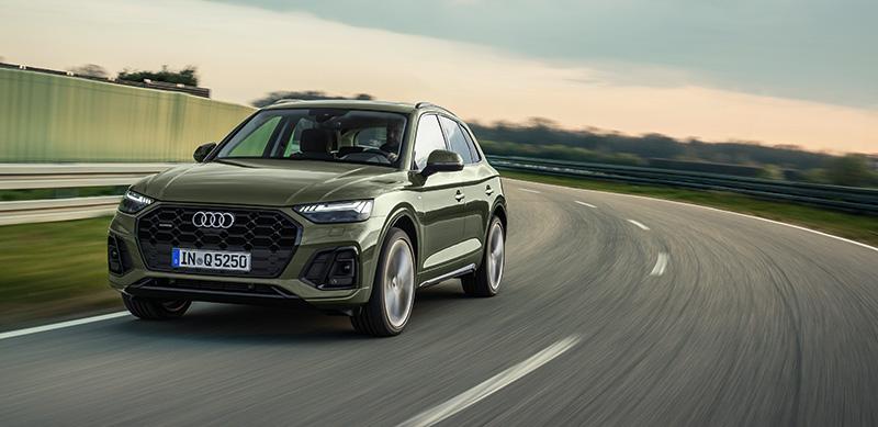 Nuevo Audi Q5 2021 frontal