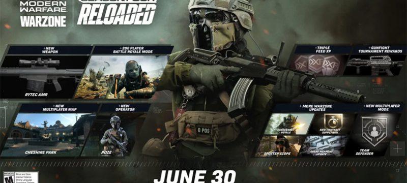 Nuevo contenido Call of Duty Modern Warfare y Warzone