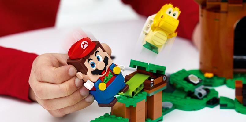LEGO Super Mario anuncia nuevos sets, llegarán en agosto de 2020