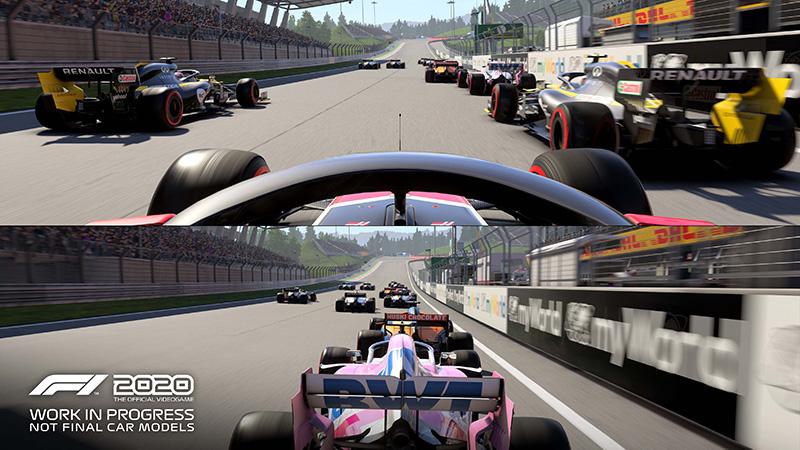 Pantalla dividida Circuito de Gilles-Villeneuve