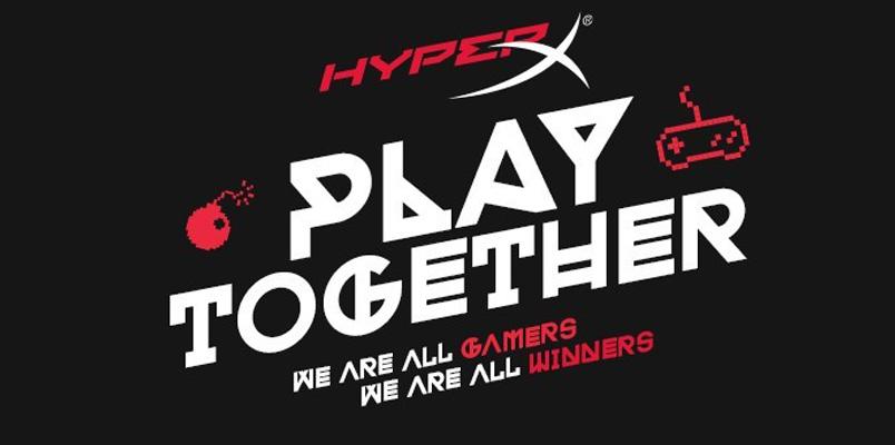 No te pierdas el evento Play Together de HyperX el 7 de junio