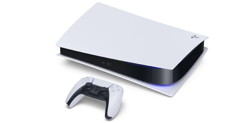 PlayStation 5 acostado