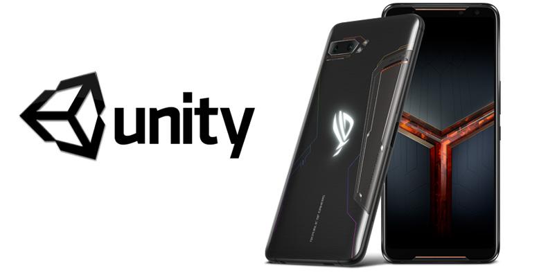 ROG Phone será el arma para los desarrolladores de Unity