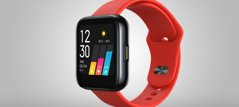 Realme Watch rojo