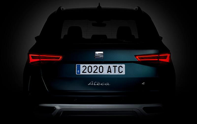 SEAT Ateca 2021 teaser