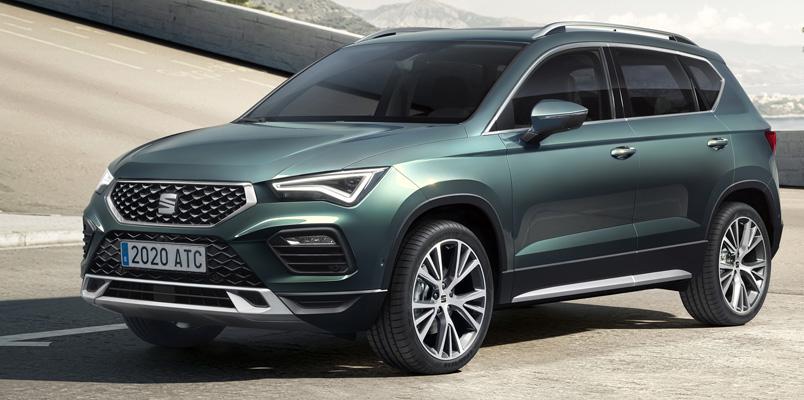 SEAT Ateca 2021 estrena nuevo diseño, motores y tecnologías