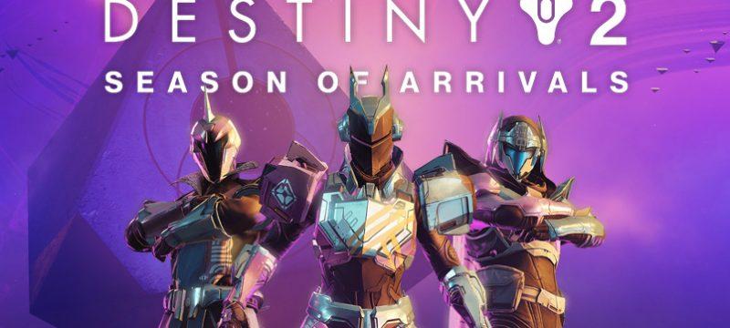 Season of Arrivals Destiny 2