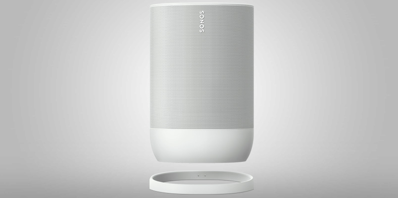 Sonos Move ahora en Lunar White y ofrece más horas de música