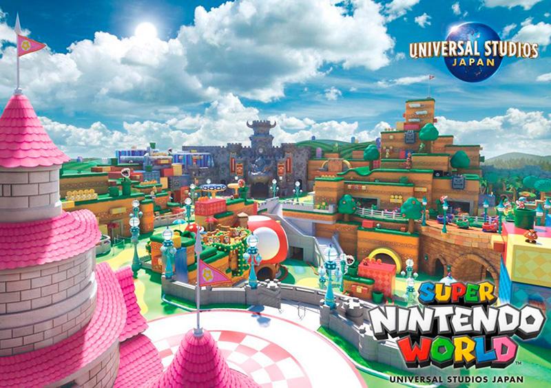 Super Nintendo World Universal Studios Japan retrasado