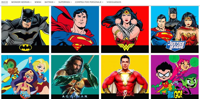 Los productos de DC Comics ya los encuentran en Amazon México