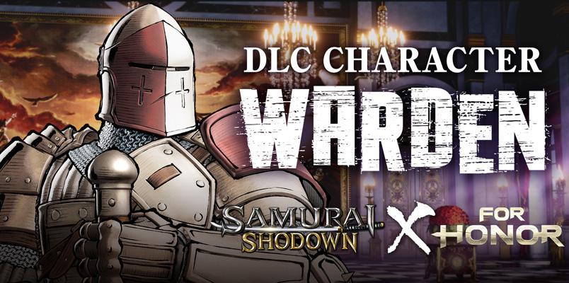 Warden de For Honor ahora pelea en Samurai Shodown