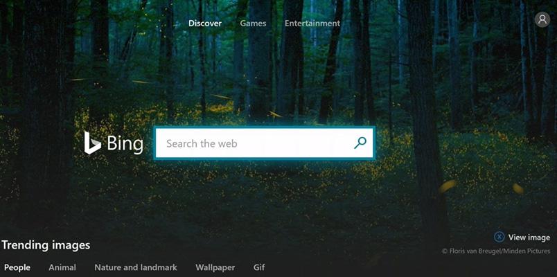 Microsoft Bing ya está disponible como aplicación en Xbox One