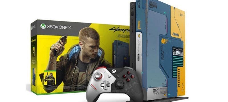 Xbox One X Cyberpunk 2077 Edicion Limitada Mexico