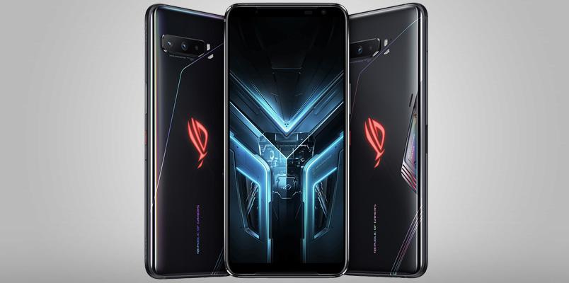 ASUS ROG Phone 3 con 16GB de RAM, 6,000 mAh y Snapdragon 865+